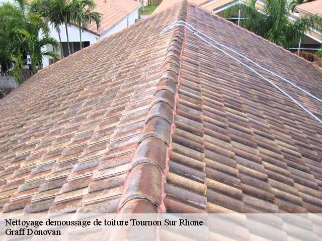 Nettoyage de toiture à Tournon Sur Rhone tél: 04.82.29.44.82